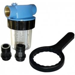 Filter vodný krátky 125 mm